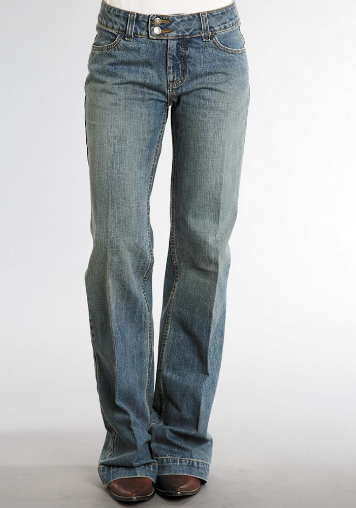 NWT Stetson Womens Jeans Blue Denim 100% Cotton Lite Wash City Trouser Low 0064 | eBay